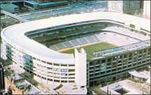 Мадрид. Стадион «Сантьяго Бернабеу»
