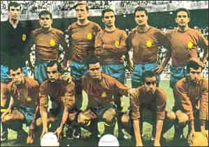 Победитель 2-го Кубка Европы - сборная Испании.