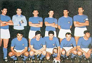 Чемпион Европы-68 - сборная Италии
