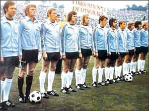 Чемпионы Европы-72 - сборная ФРГ