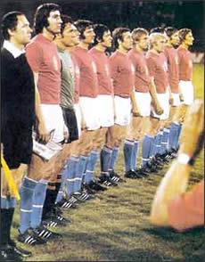 Чемпион Европы-76 - сборная Чехословакии