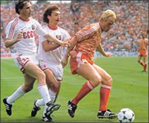 Финальный матч: Голландия - СССР