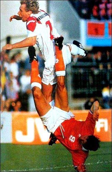 Капитан сборной СССР/СНГ Алексей Михайличенко в цикле Euro-92 провел без замен все 11 матчей