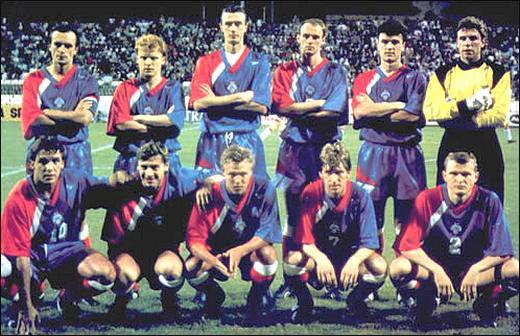 сборная россии по футболу 1993
