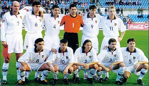 Сборная россии 2001