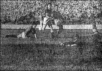 Второй мяч в ворота сборной Финляндии, забитый после хорошо разыгранной комбинации Серебрянников - Биба - Казаков