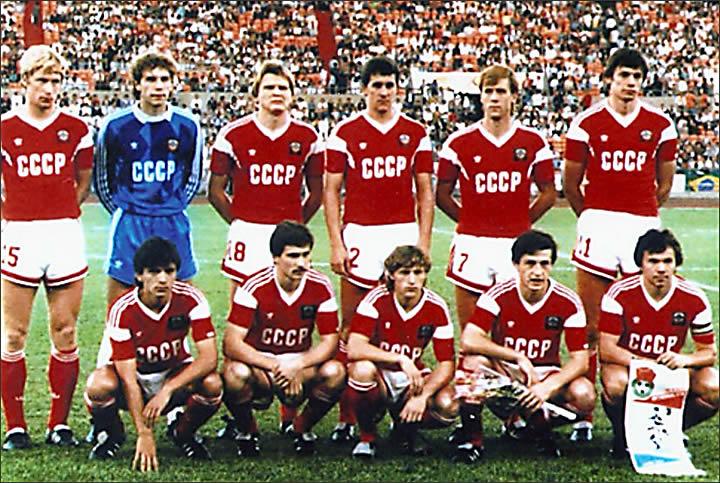 Футбол ссср-бразилия 1988