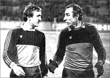 Вячеслав (справа) и Виктор Чановы