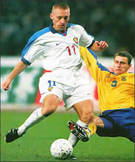 Звёзды «Спартака»! 1995-2002г! Андрей Тихонов!