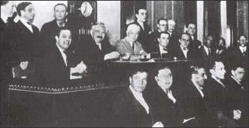 Исторический конгресс ФИФА 1928 года, на котором было принято            решение об учреждении чемпионатов мира
